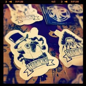 Jean Le Roux Stickers