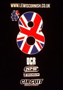 Lewis Cornish Supermoto race shirts